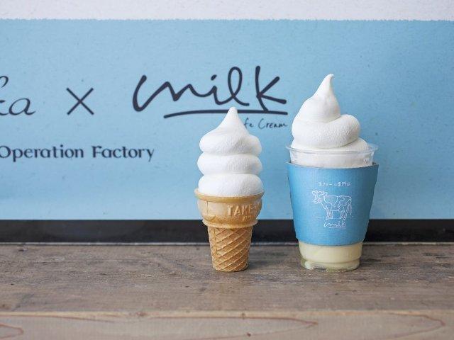 日本初・生クリーム専門店『ミルク』が超話題! 大人気メニューと限定メニューもご紹介【原宿】