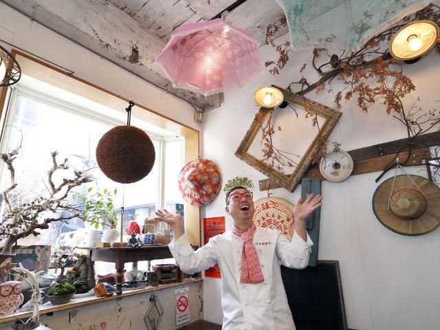 シェフのセンス溢れる創作台湾料理店『東京台湾』