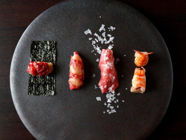 黒毛和牛をお寿司で味わう! 人気焼肉店『KINTAN』が手掛ける『牛肉寿司 きんたん』【銀座】