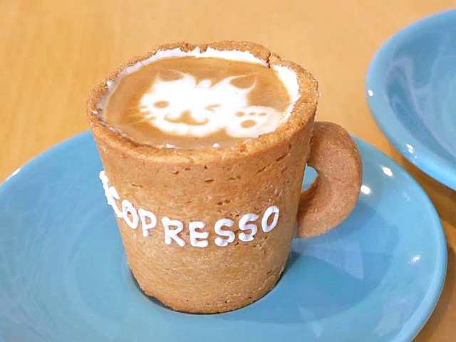 カップも丸ごと食べられるエスプレッソがいま話題! 新感覚のスイーツコーヒーが楽しめる『エコプレッソ』