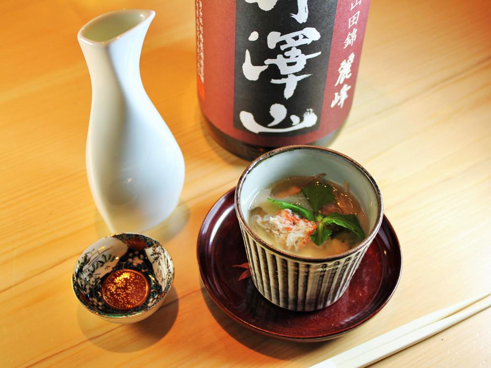 """""""だし""""から始まるおまかせ料理は感動もの! 荒木町の夜を満喫する、和食と日本酒の店『きんつぎ』"""