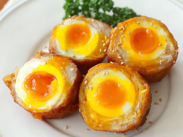 とろ~り濃厚な半熟卵をおつまみにしたらおいしすぎた! タマゴが主役の絶品おつまみレシピ3選