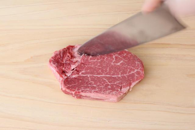 【point2】肉はあらかじめ「常温」に戻しておくこと!