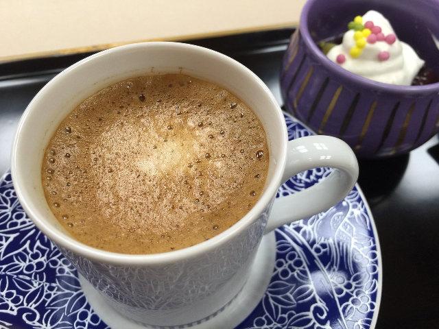 日本料理と「旬」の味がするコーヒーのマッチング