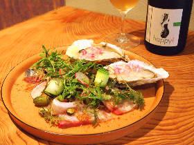 フレッシュな魚介&野菜を自然派ワインと楽しみたいならここ!三軒茶屋に現れた注目のカジュアルフレンチ