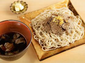黒トリュフと蕎麦のまさかの出逢い! 食通も唸る絶品「トリュフ蕎麦」が大阪グルメ界で話題沸騰