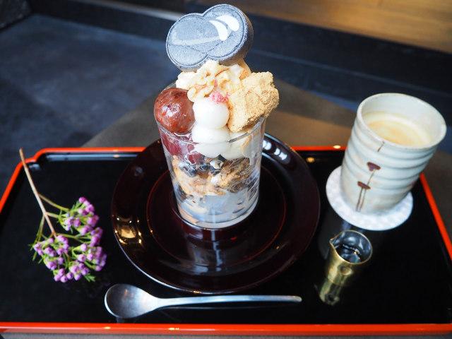 日本料理店が手掛ける黒蜜たっぷりの和パフェ『廚 otonaくろぎ』