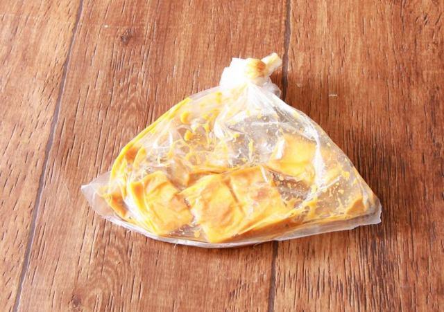 作り方(調理時間:3分 ※チーズを漬け込む時間は除く)