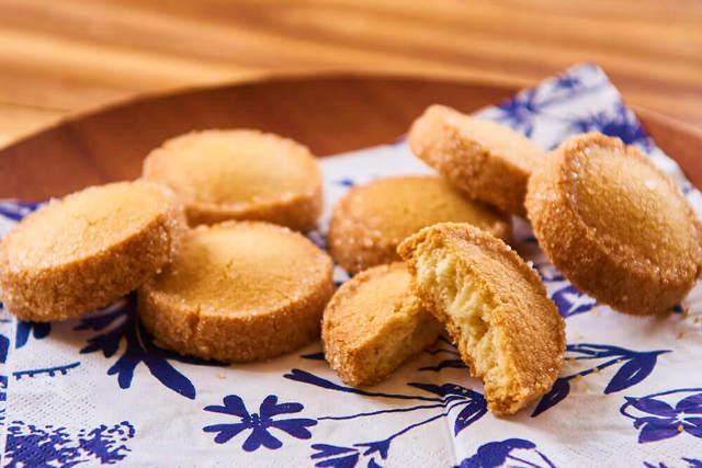 卵レシピなしのバタークッキー