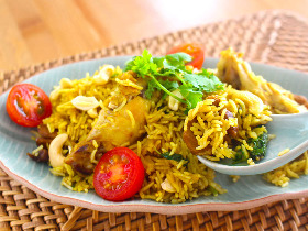 ピリッとスパイシー!炊飯器で作れるインドの炊き込みご飯「ビリヤニ」がカレー好きにはたまらないおいしさ