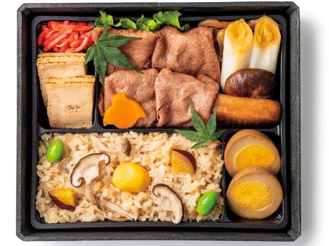旬の松茸や栗をお弁当で堪能できる! 「秋の味覚フェア」が東京駅で開催中