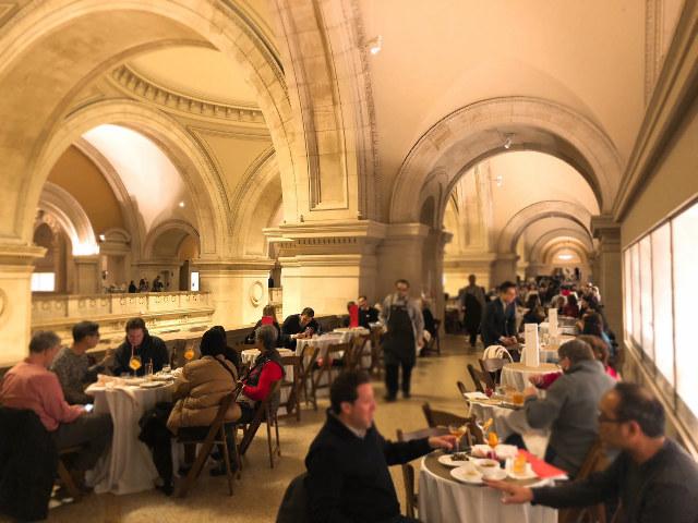 美術鑑賞と食を同空間で愉しめる!メトロポリタン美術館『ダイニングルーム』と『バルコニーカフェ&バー』