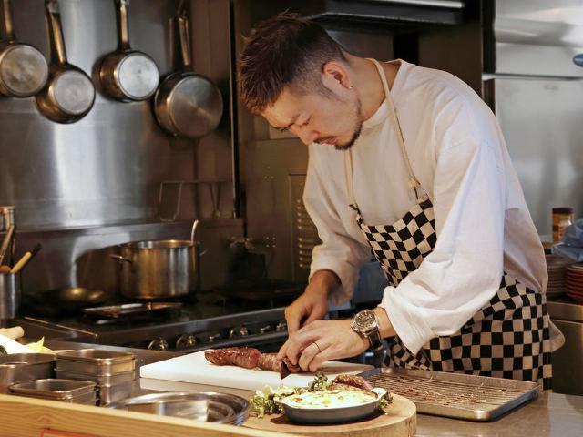 フレンチ出身シェフによる、楽しい時間を過ごすための料理