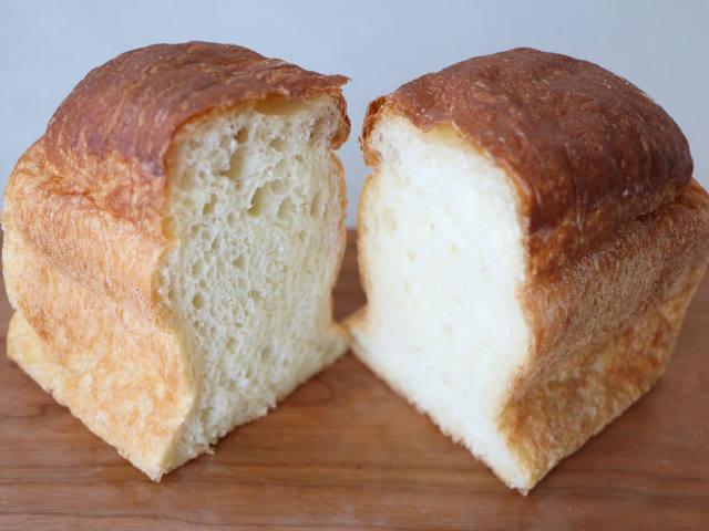 驚きの水分量で作られた食パンは、モチモチを超える新食感