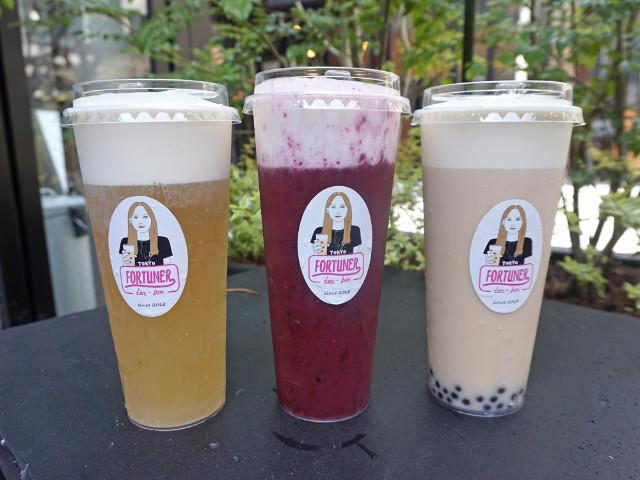 お茶とチーズクリームが相性抜群! 台湾発のティードリンク『フォーチュナー ティーボックス』