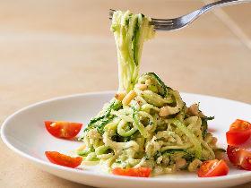 ヘルシーパスタの究極系!? 麺が野菜の「ベジパスタ」レシピをローフード専門店が伝授