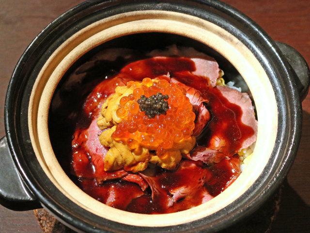 最上級のご飯に、ウニ・イクラ・ローストビーフがたっぷりオン! お米も素材もすごい和食店『おこん』