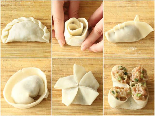 餃子は「包み方」を変えれば味わいに差がつく! ちょっと変わっ