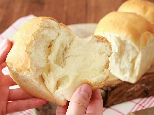 生クリーム入りで耳までふわっふわ! パウンド型で簡単に作れる「生食パン」の本格味レシピ