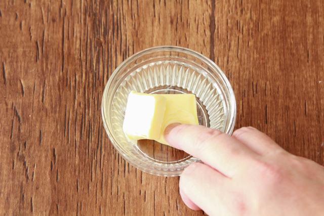 【point1】バターは室温に戻す