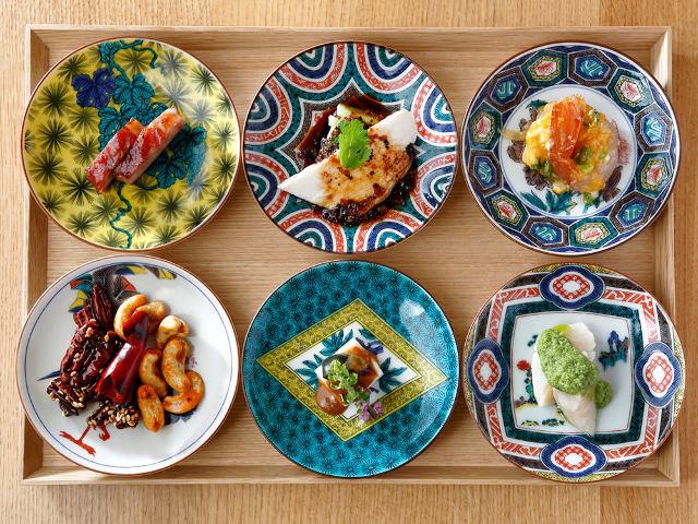 美しすぎる中華料理店を発見!鮮やかな「九谷焼」と中華料理のコラボに思わずうっとり『恵比寿中華 泰山』