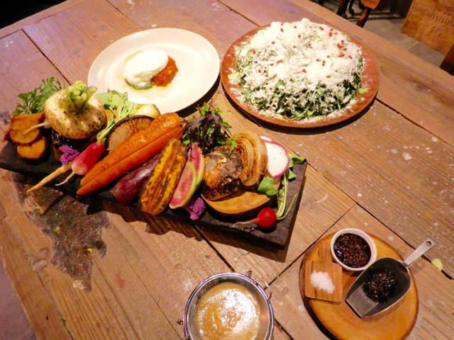 130種の新鮮オーガニック野菜を堪能! 恵比寿で味わう畑のおいしさ