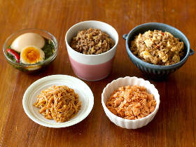 究極の「ご飯のおとも」が大集結! 白米好きなら常備しておきたい、作り置きできる簡単おかずレシピ5選
