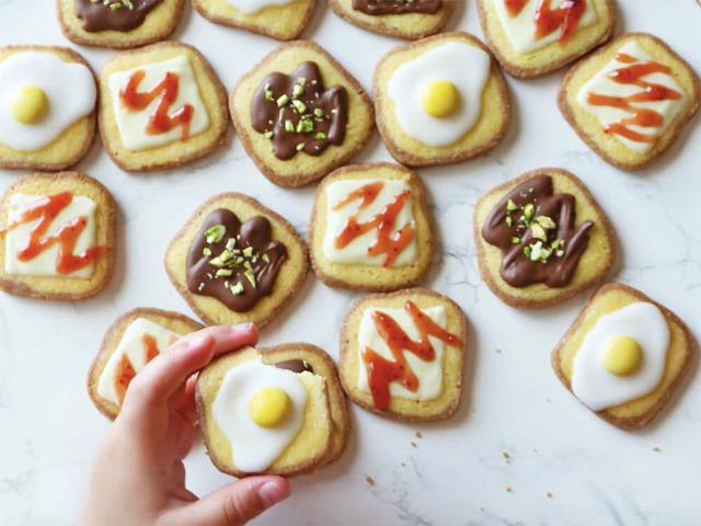 まるで食パンなクッキーが可愛すぎ! 意外と簡単に作れる「食パン型クッキー」の基本レシピとアレンジ3選