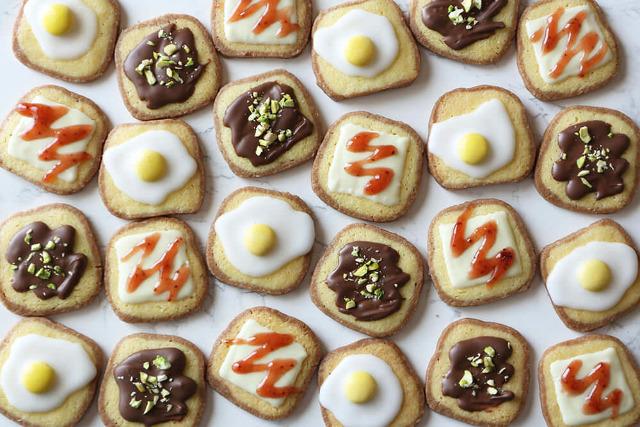 トッピング クッキー