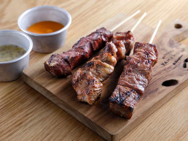 赤身、ロース、タン、ハラミ…の牛肉ワールド!一流シェフが開いた、安くてウマい恵比寿の「牛串バル」