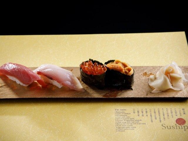 北海道食材からなる本格寿司会席と東京の絶景! 水上レストラン『Suship』がハイクオリティと評判