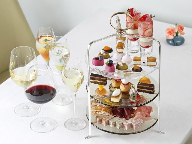 恵比寿の『アトリエ プラン エビス』で贅沢なアフタヌーンティーを楽しむ! フリーフローワインも大人気