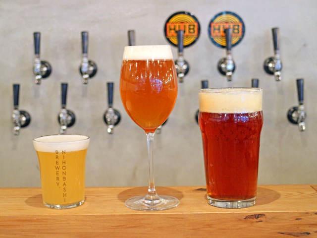 ビール好きなら絶対行くべき! アメリカ最高峰レシピのクラフトビールが堪能できる『日本橋ブリュワリー』