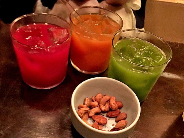 世界初・濃縮「コールドプレスジュース」をカクテルにする専門バー『ムーンシャイン』が神田にオープン!