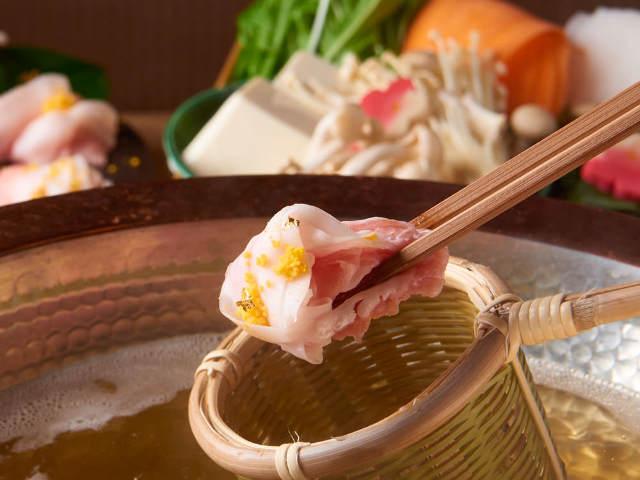 アゴだし100%で食べる贅沢しゃぶしゃぶが絶品! 長崎・五島市公認のうまいもの和食『五島人』
