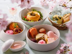 ひと足早く春を満喫! お花見気分で楽しむ、都内ラグジュアリーホテルの「桜スイーツ」フェアまとめ