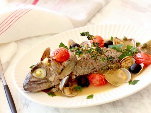 炊飯器でふっくら! ほったらかすだけでお店のような「アクアパッツァ」が簡単に作れる裏ワザレシピ