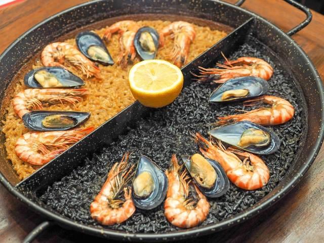 中目黒『スペイン料理 Pablo(パブロ)』の「2色パエリア」は衝撃的にウマい!予約して絶対行くべし