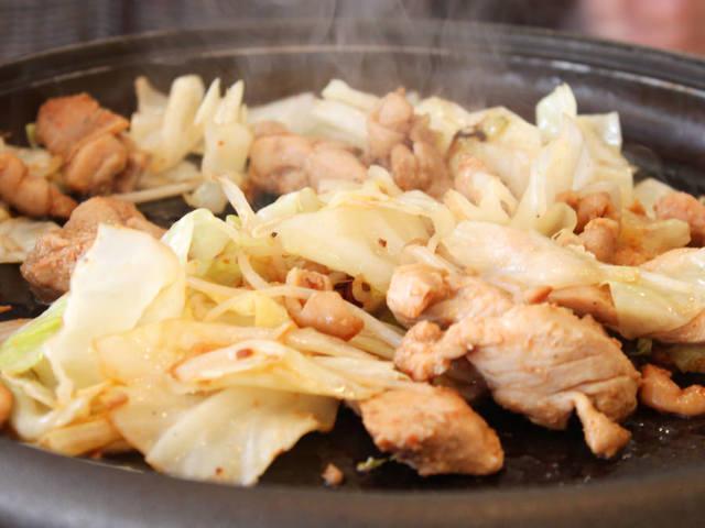 男性支持率高し!『鶏ちゃん焼き』『台湾まぜそば』『海老味噌』