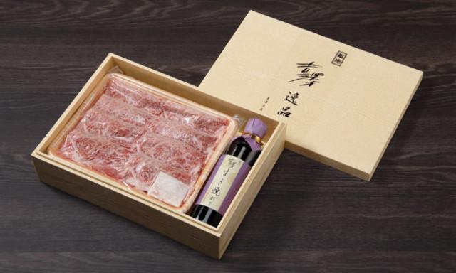 1.骨付きで熟成させた松阪牛はとろけるうまさ! 銀座老舗の極上「すき焼きセット」