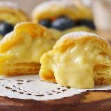 サクふわとろ~りの「プチシュークリーム」がトースターで作れる!材料3つの簡単レシピがおいしくて感激