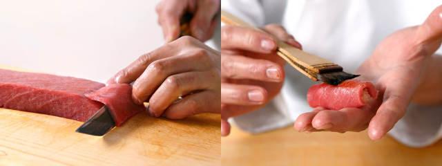 握りのメインはやはりマグロ! 『やま幸』で仕入れた極上のネタを磨き込む