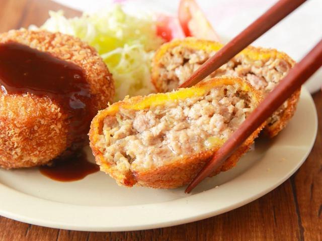 自家製「メンチカツ」は肉汁があふれ出すジューシーさ! おいしくできるコツ満載の絶品メンチカツレシピ