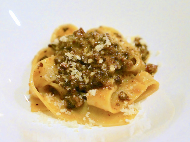イタリア全土20州の郷土料理を深く追求するアーティストのイタリアン『オステリア・デッロ・スクード』