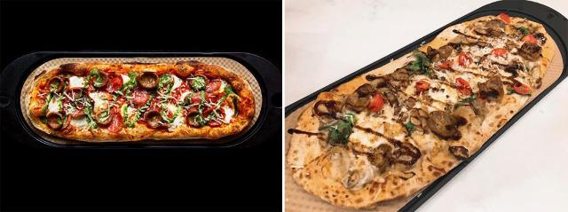 NYならではのクールなビジュアル! チェーンストア『&pizza』の楕円形ピザ