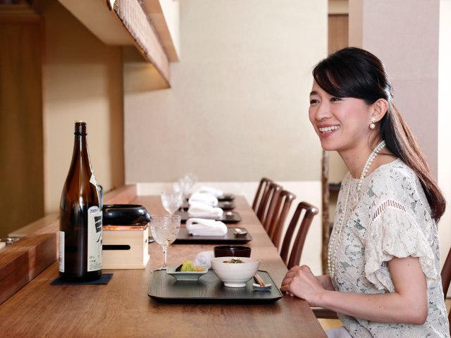 利き酒師・あおい有紀アナがこっそり通う、お燗名人の日本酒がおいしい神楽坂「隠れ家割烹」