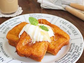 フレンチトーストを焼かずに揚げたらおいしすぎた!サクふわ食感がたまらない「揚げフレトー」の簡単レシピ
