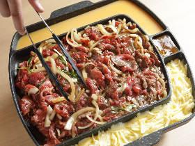とろ~りチーズとスパイシーなカレーで味変!今神戸で話題の「手巻き焼肉」を体験してみた【野菜食べ放題】