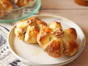 パリッとモッチリ! おいしい「クルミパン」が1時間以内で作れる、発酵いらずの簡単クルミパンレシピ