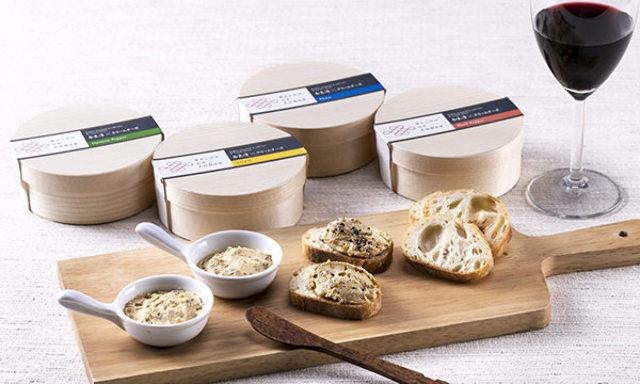 2.奈良漬とチーズのおいしい出会い!バゲットと一緒に持っていきたい、クリームチーズ4種セット